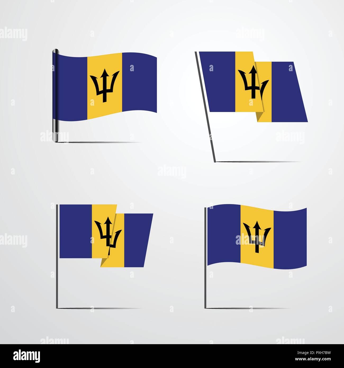Barbados - Stock Vector
