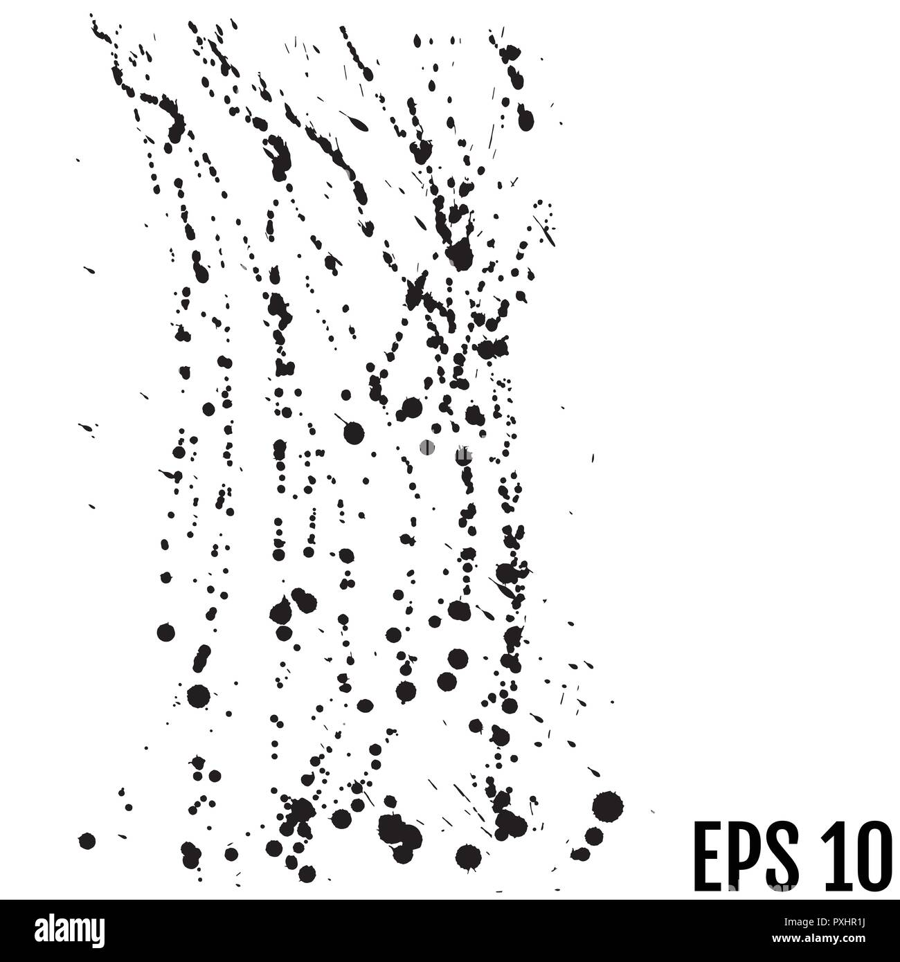 Ink blots background  Grunge texture  Poster for your design