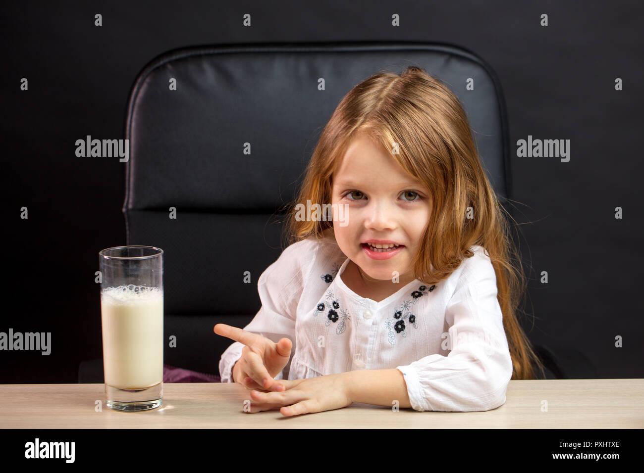Milk and little girl boobs — photo 4