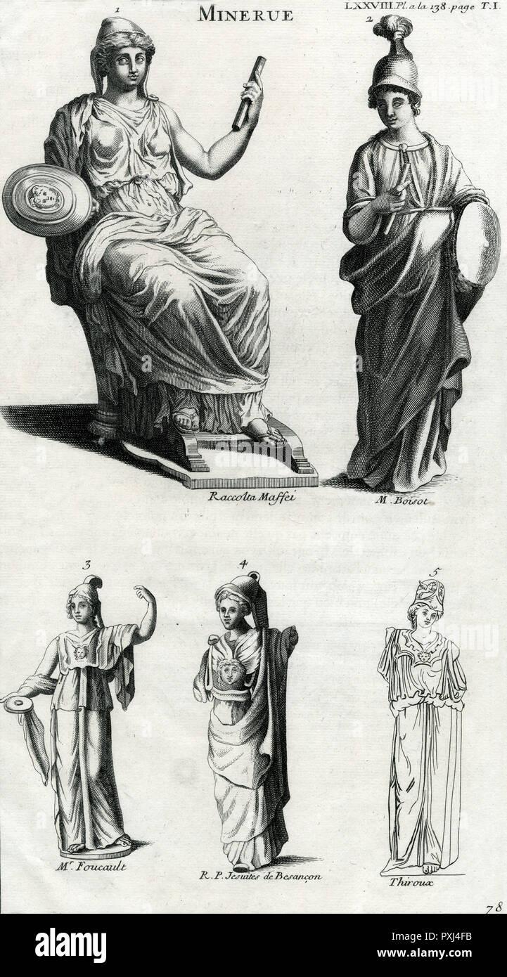 Goddess Of Wisdom Stock Photos & Goddess Of Wisdom Stock