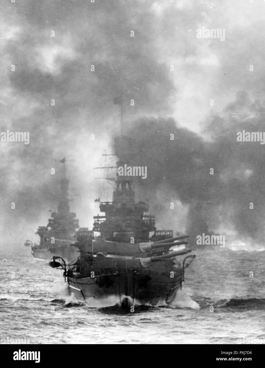 HMS Repulse, British Battlecruiser, 1916-1941 - Stock Image