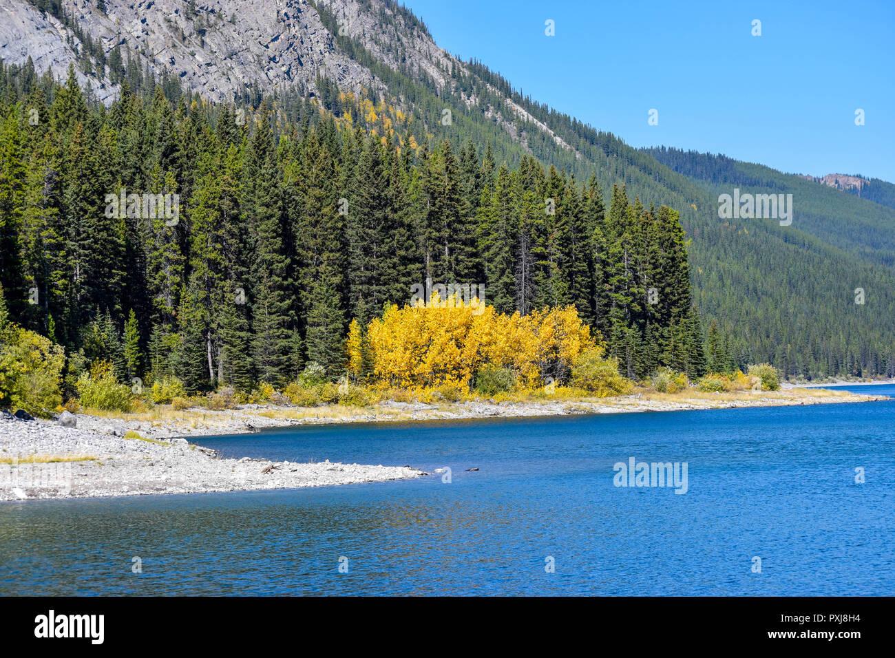 amazing scenery in the Rockies Stock Photo
