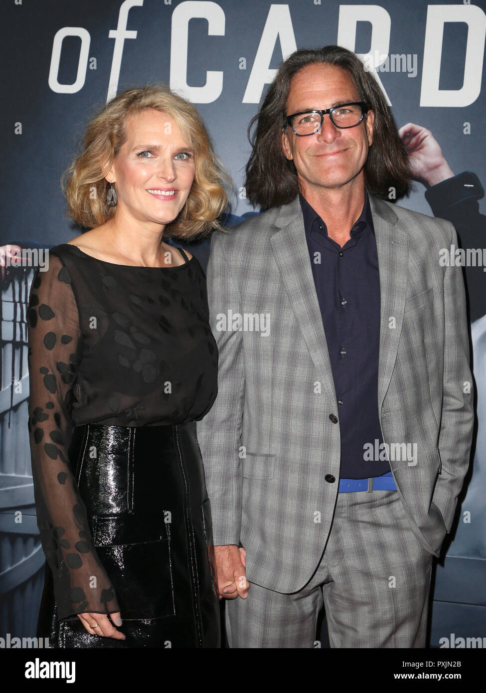 Los Angeles, Ca, USA. 22nd Oct, 2018. Melissa James Gibson, Guest, at the Season 6 premiere screening of Netflix' House Of Cards at The DGA Theater in Los Angeles, California on October 22, 2018. Credit: Faye Sadou/Media Punch/Alamy Live News - Stock Image