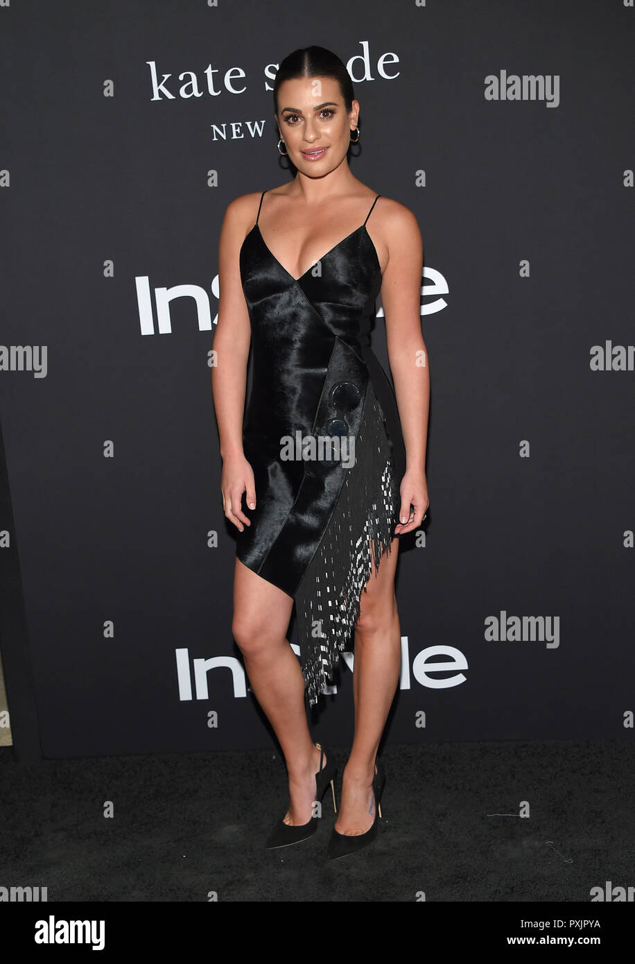 3dcecefae7 Lea Michele arrives for the 4th Annual 'InStyle Awards' at The Getty  Center. Credit: Lisa O'Connor/ZUMA Wire/Alamy Live News