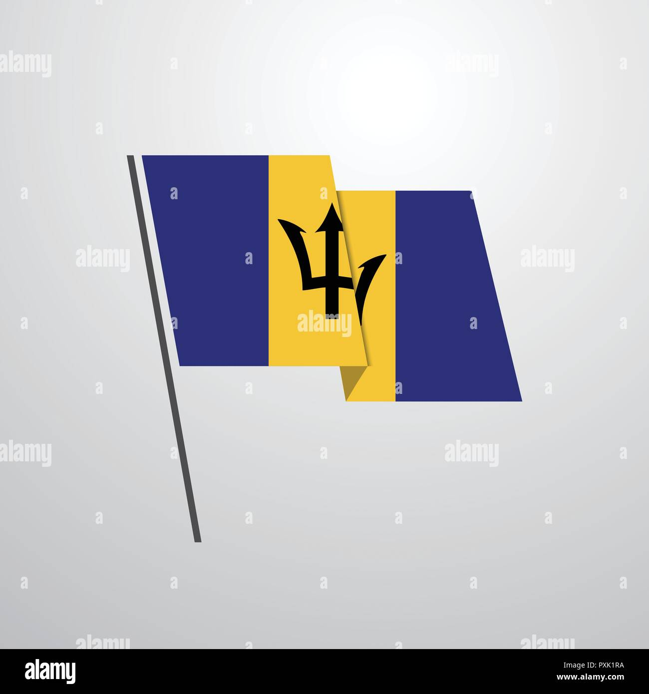 Barbados Stock Vector