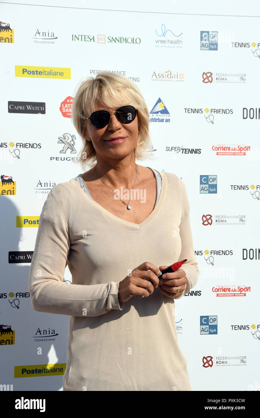 Maria De Filippi High Resolution Stock Photography And Images Alamy