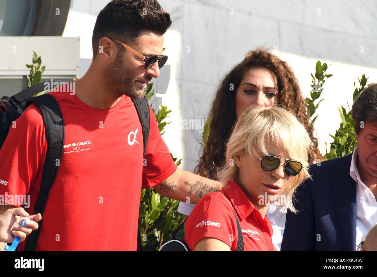 Maria De Filippi And Filippo Bisciglia High Resolution Stock Photography And Images Alamy
