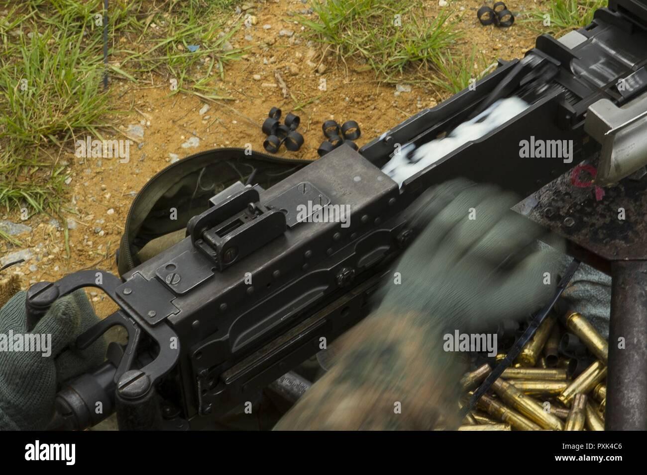 M2 50 Cal Machine Gun Stock Photos & M2 50 Cal Machine Gun