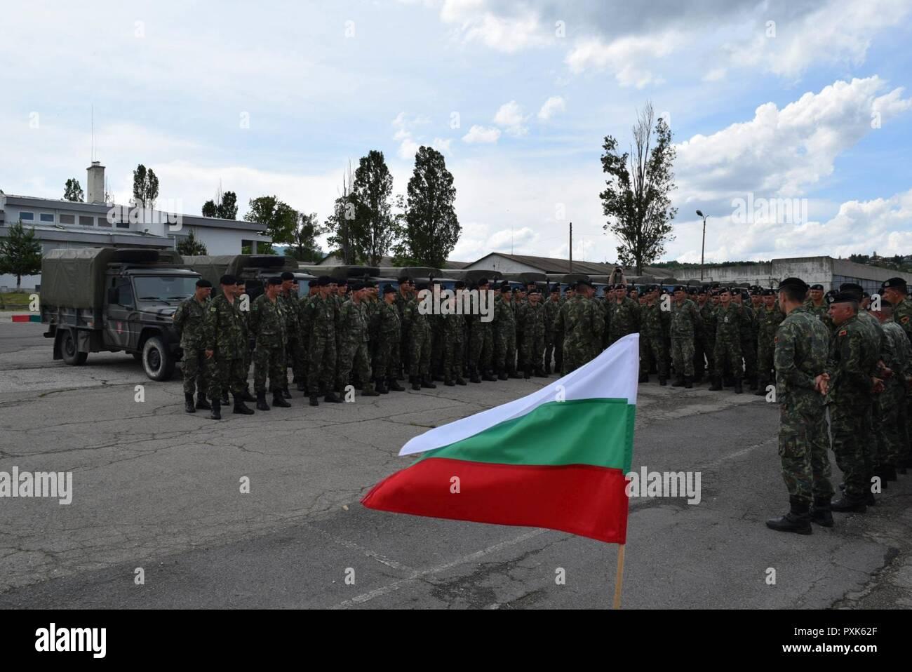 June 3, 2017 Sofia, Bulgaria Today, the Albanian contingent