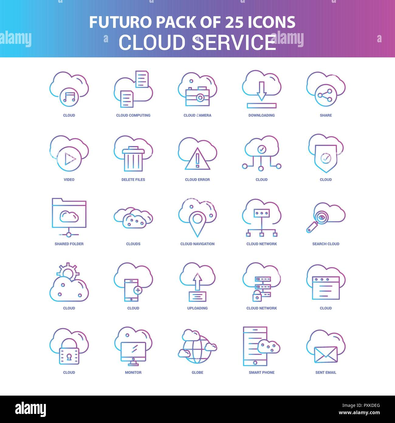 Delete Cloud Stock Photos & Delete Cloud Stock Images - Alamy