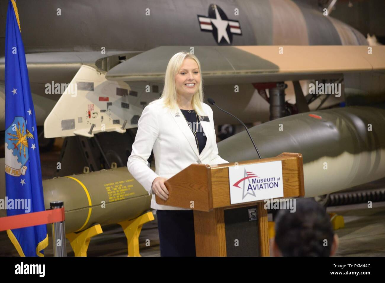 The Museum of Aviation hosted a dedication ceremony for the museum's