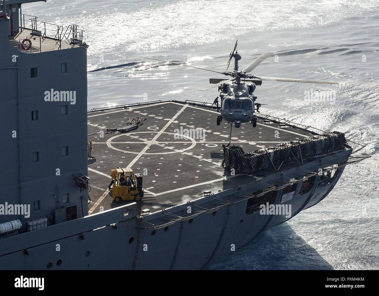 Usns Big Horn T Ao 198 Stock Photos & Usns Big Horn T Ao 198