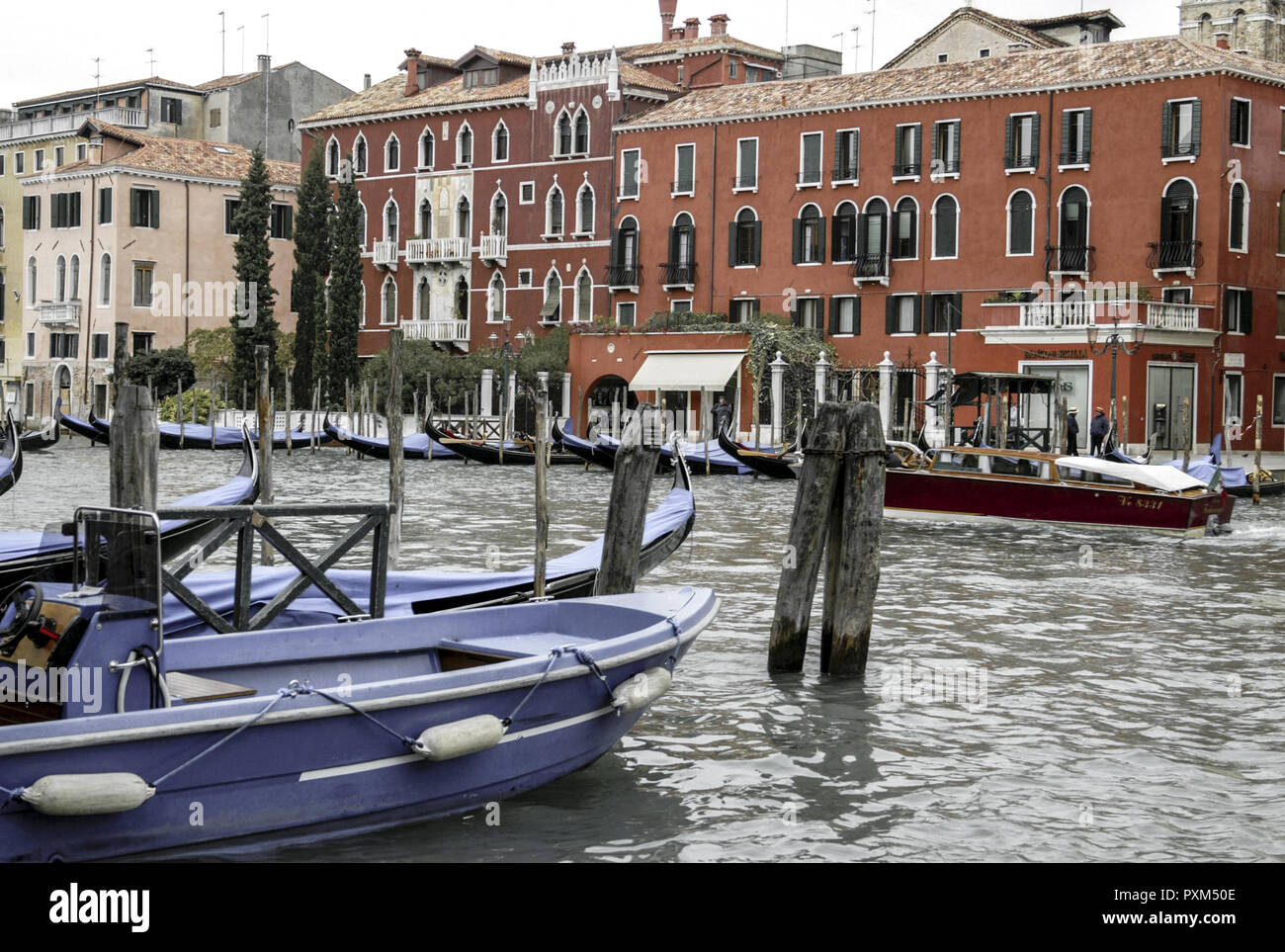 Venice, view to Canale Grande Stock Photo