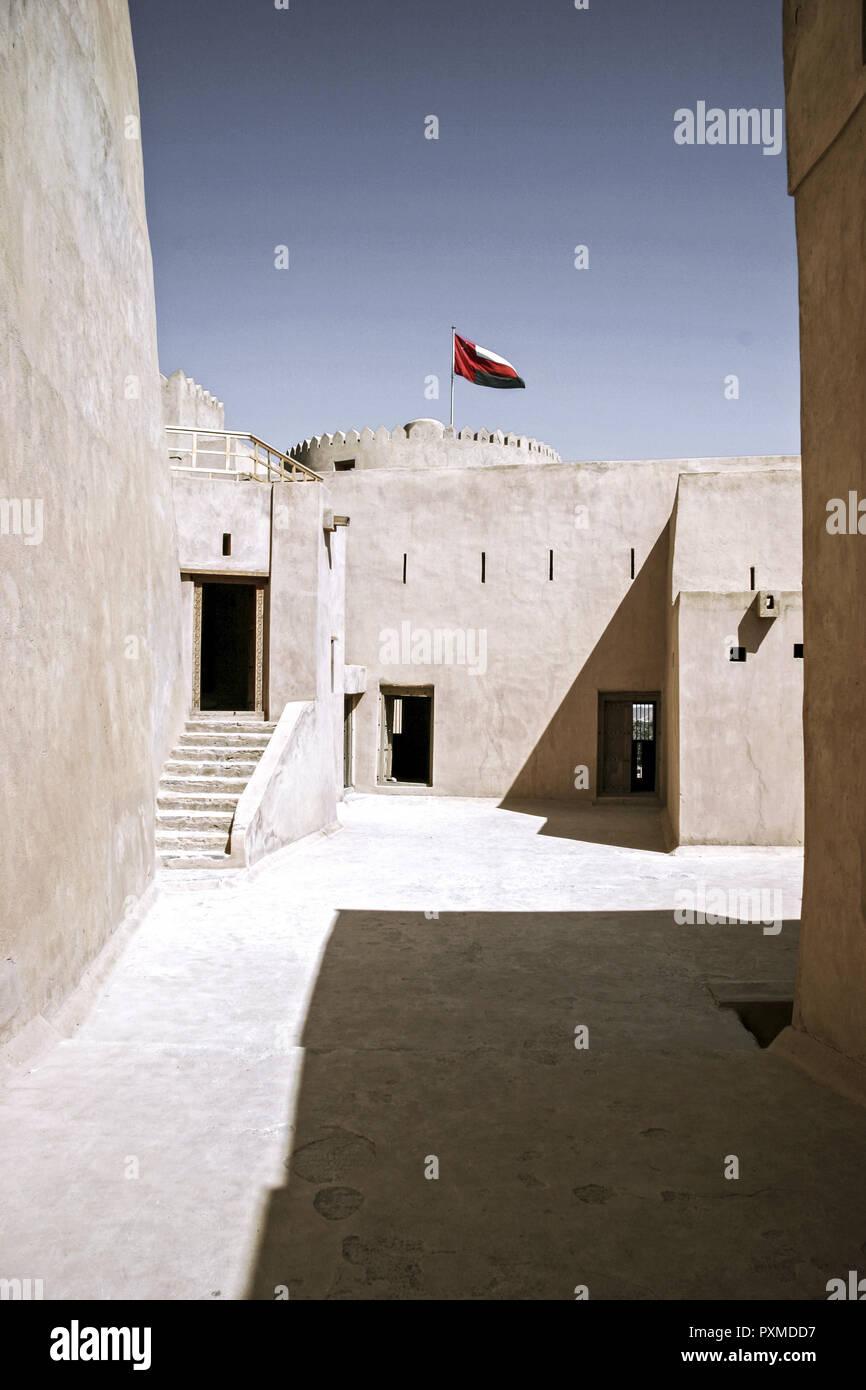 Oman, Fort Qalaat al-Qesra of Rustaq - Stock Image