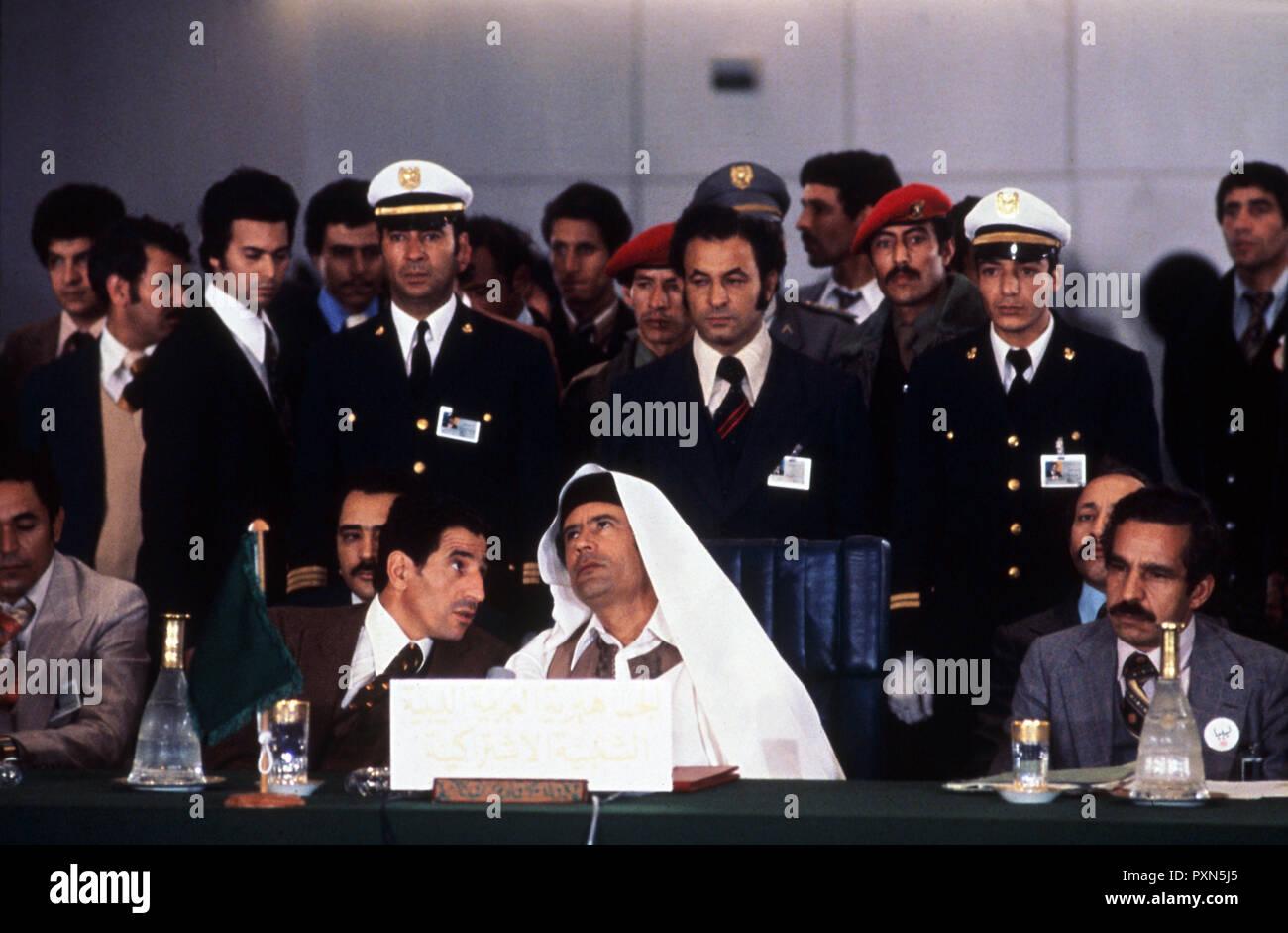 muammar gaddafi - Stock Image