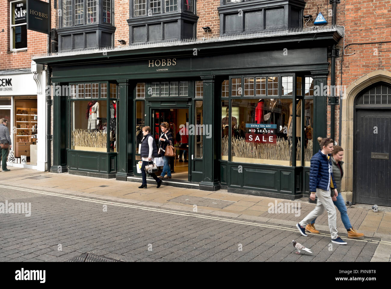 6540d587f369 Hobbs of London clothing store shop Davygate York North Yorkshire England  UK United Kingdom GB Great Britain