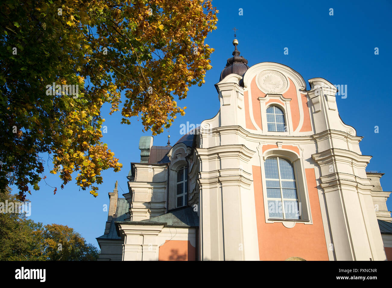 Former Cistercian Abbey in Lad, Poland. October 12th 2018 © Wojciech Strozyk / Alamy Stock Photo - Stock Image