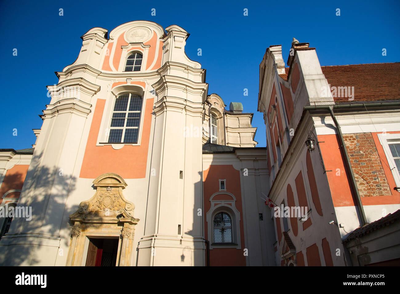 Former Cistercian Abbey in Lad, Poland. October 12th 2018 © Wojciech Strozyk / Alamy Stock Photo - Stock Image