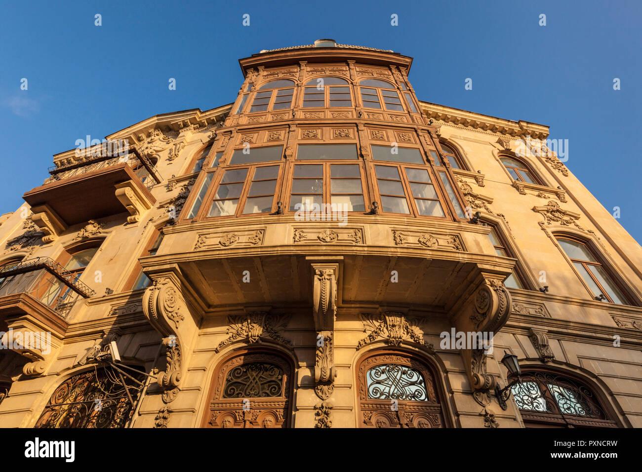 Azerbaijan, Baku, Old City, traditional architecture - Stock Image