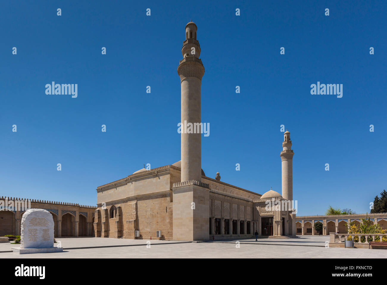 Azerbaijan, Samaxi, Juma Mosque or Friday Mosque - Stock Image