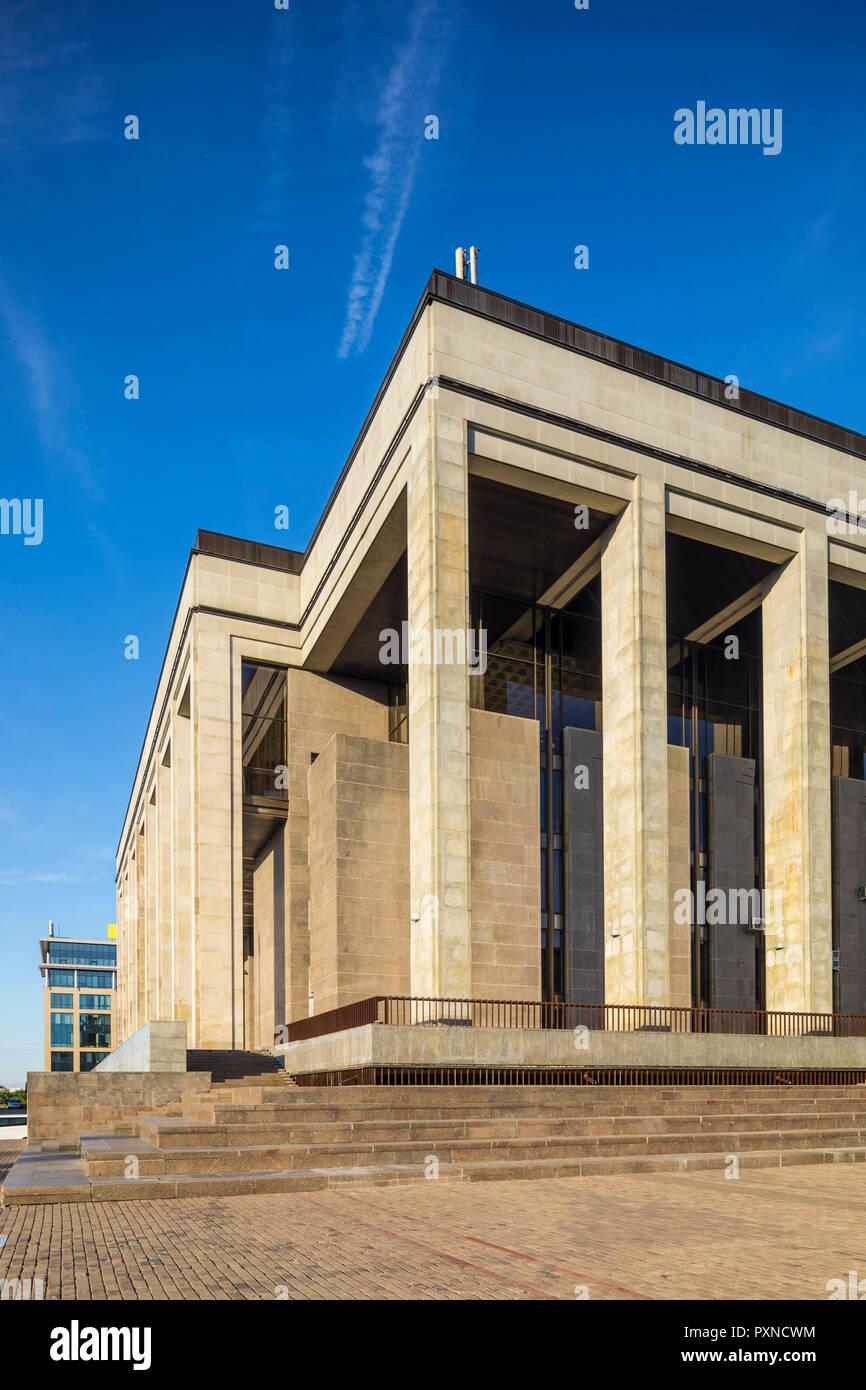 Palace of Republic, Minsk, Belarus - Stock Image
