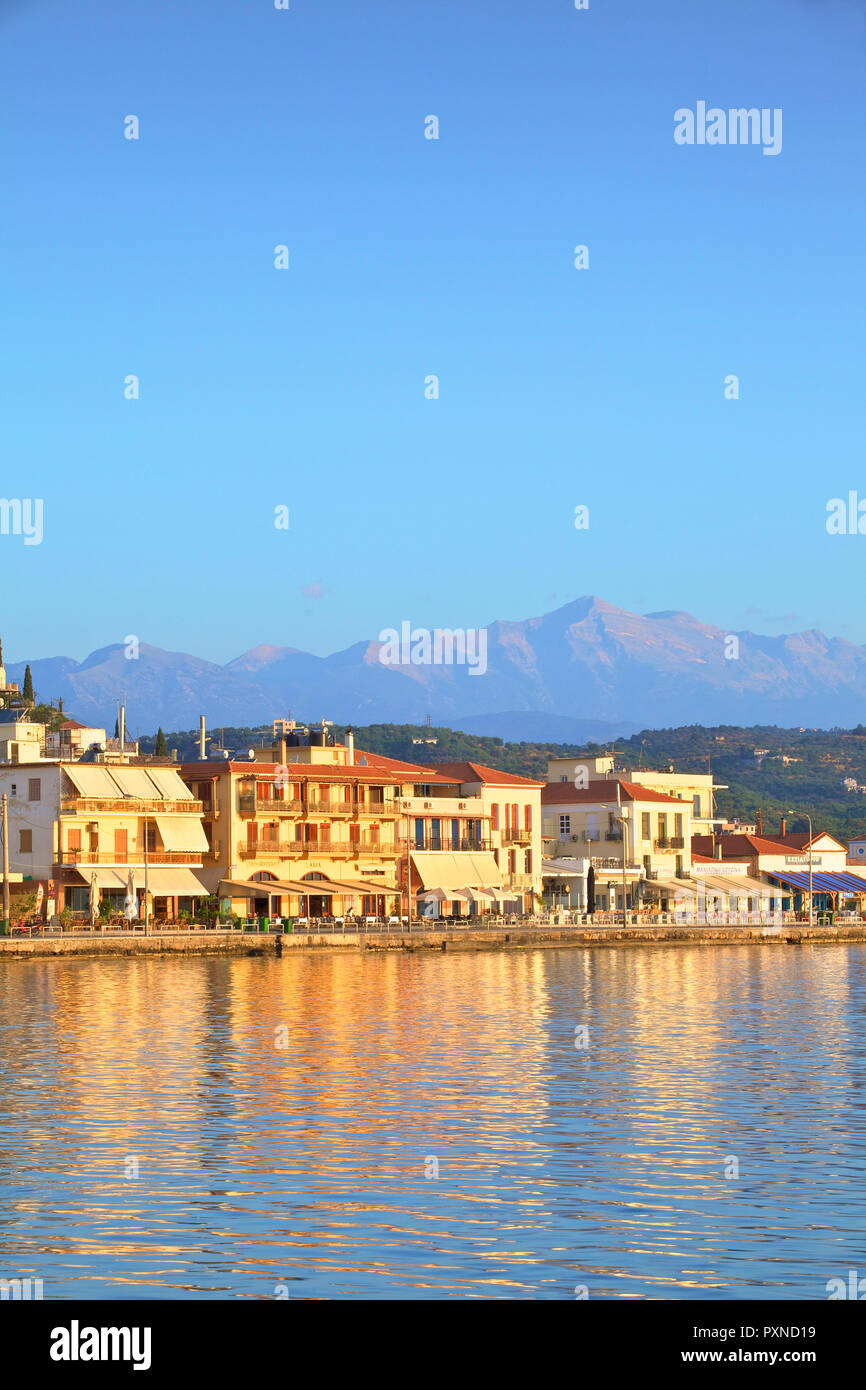 Gytheio, Mani Peninsula, The Peloponnese, Greece, Southern Europe - Stock Image