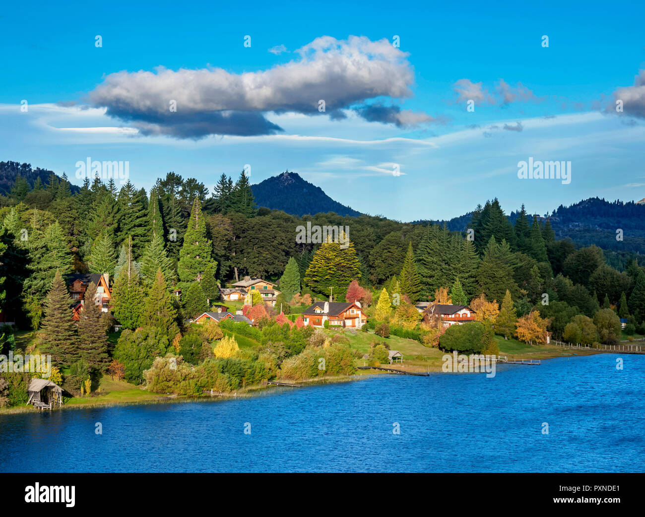 Lake Moreno, Llao Llao, Nahuel Huapi National Park, Rio Negro Province, Argentina - Stock Image