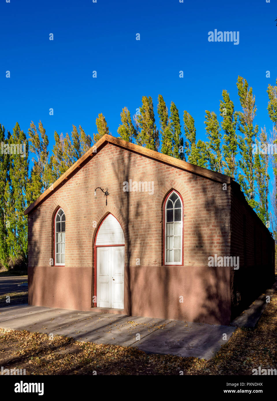 Old Bethel Chapel, Gaiman, The Welsh Settlement, Chubut Province, Patagonia, Argentina - Stock Image
