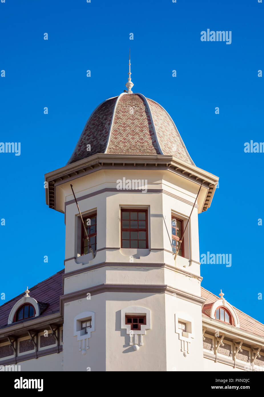 Pujol Chalet, Natural Science and Oceanographic Museum, Puerto Madryn, The Welsh Settlement, Chubut Province, Patagonia, Argentina - Stock Image