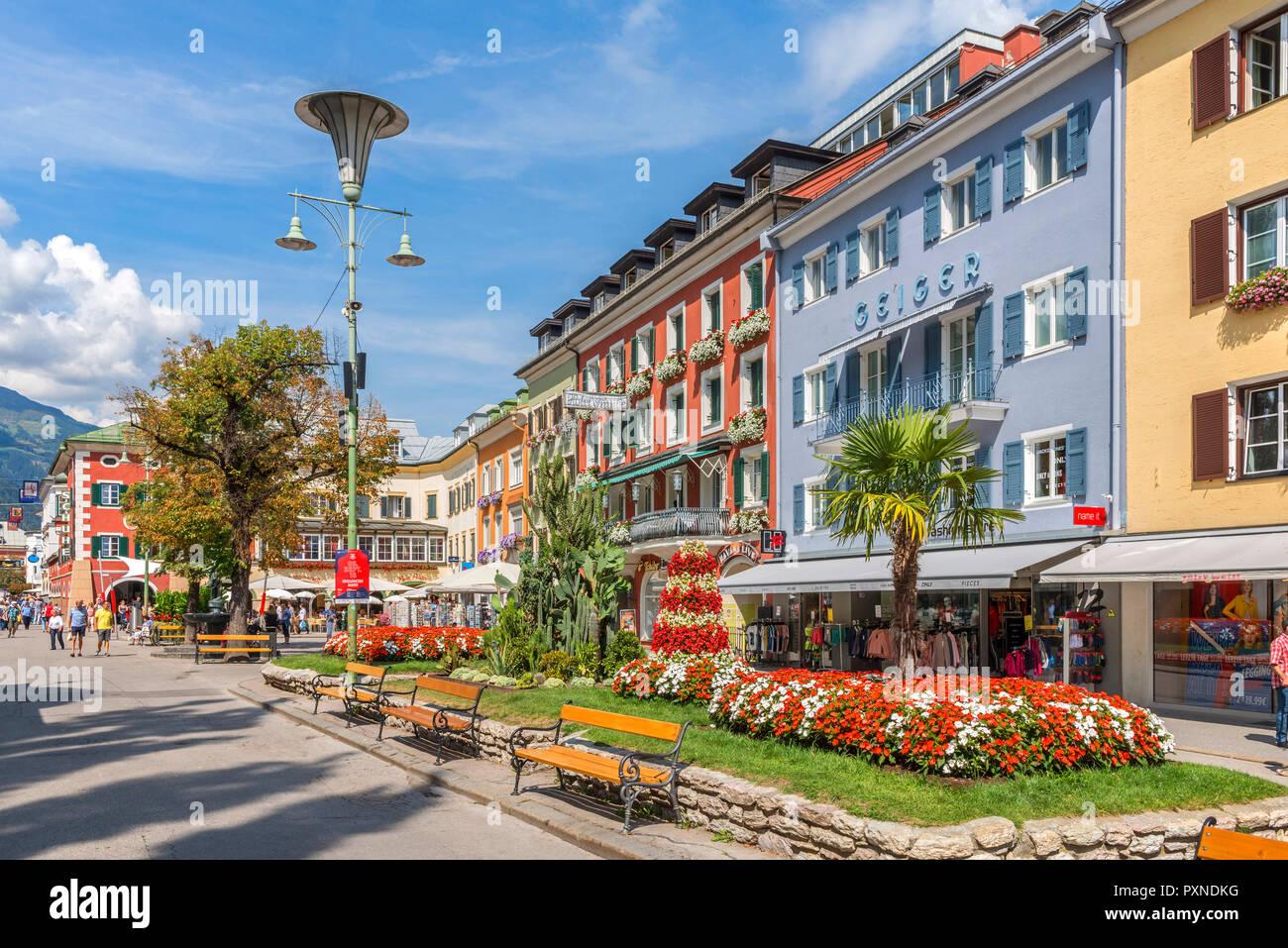 Main Place, Lienz, Tyrol, Austria - Stock Image