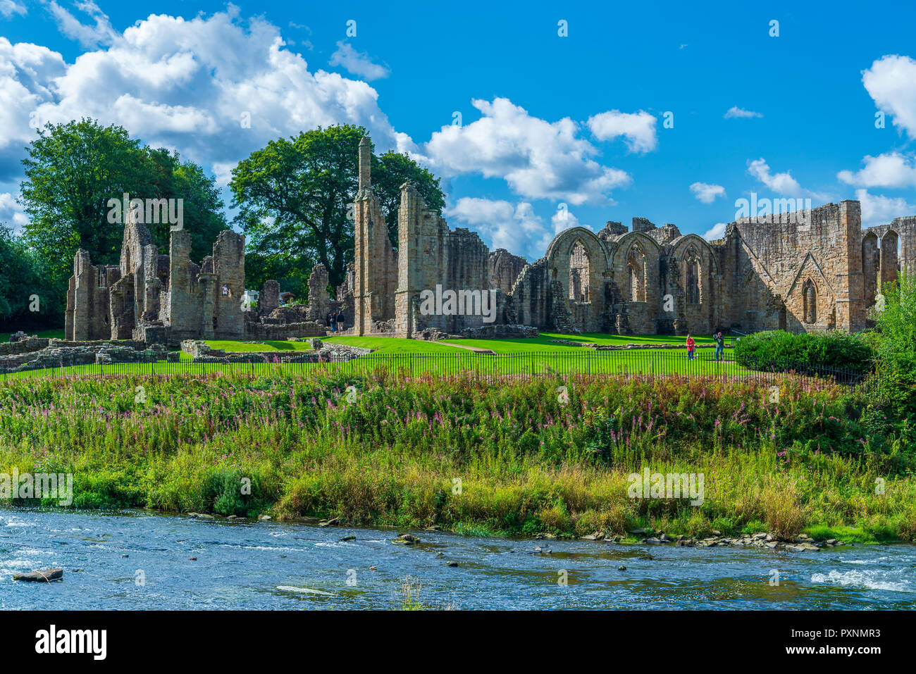 Finchale Priory, Durham, England, United Kingdom, Europe Stock Photo