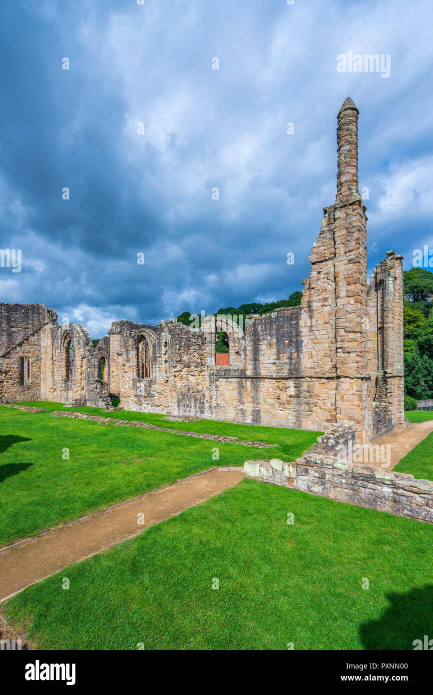 Finchale Priory, Durham, England, United Kingdom, Europe Stock Photo
