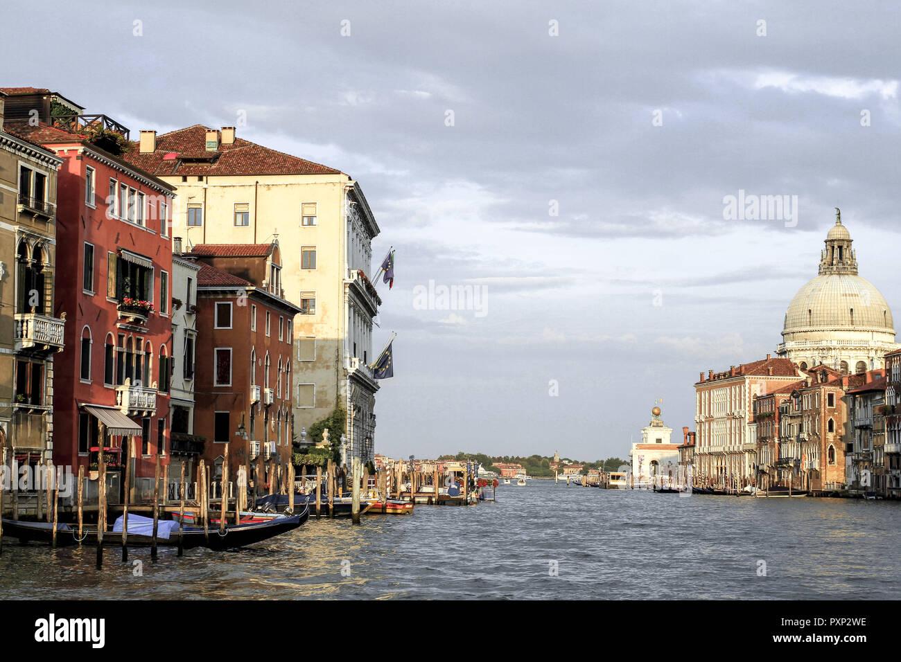 Canale Grande in Venedig, Italien Stock Photo