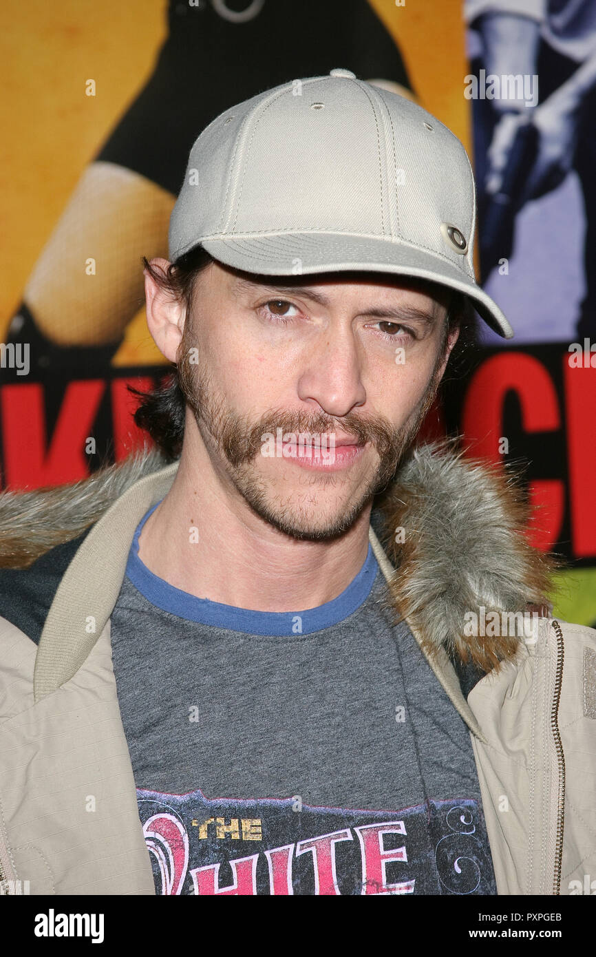 Clifton Collins Jr.  01/18/07 SMOKIN' ACES  @  Grauman's Chinese Theatre, Hollywood  photo by Jun Matusda/HNW / PictureLux (January 18, 2007)   File Reference # 33687_179HNWPLX - Stock Image