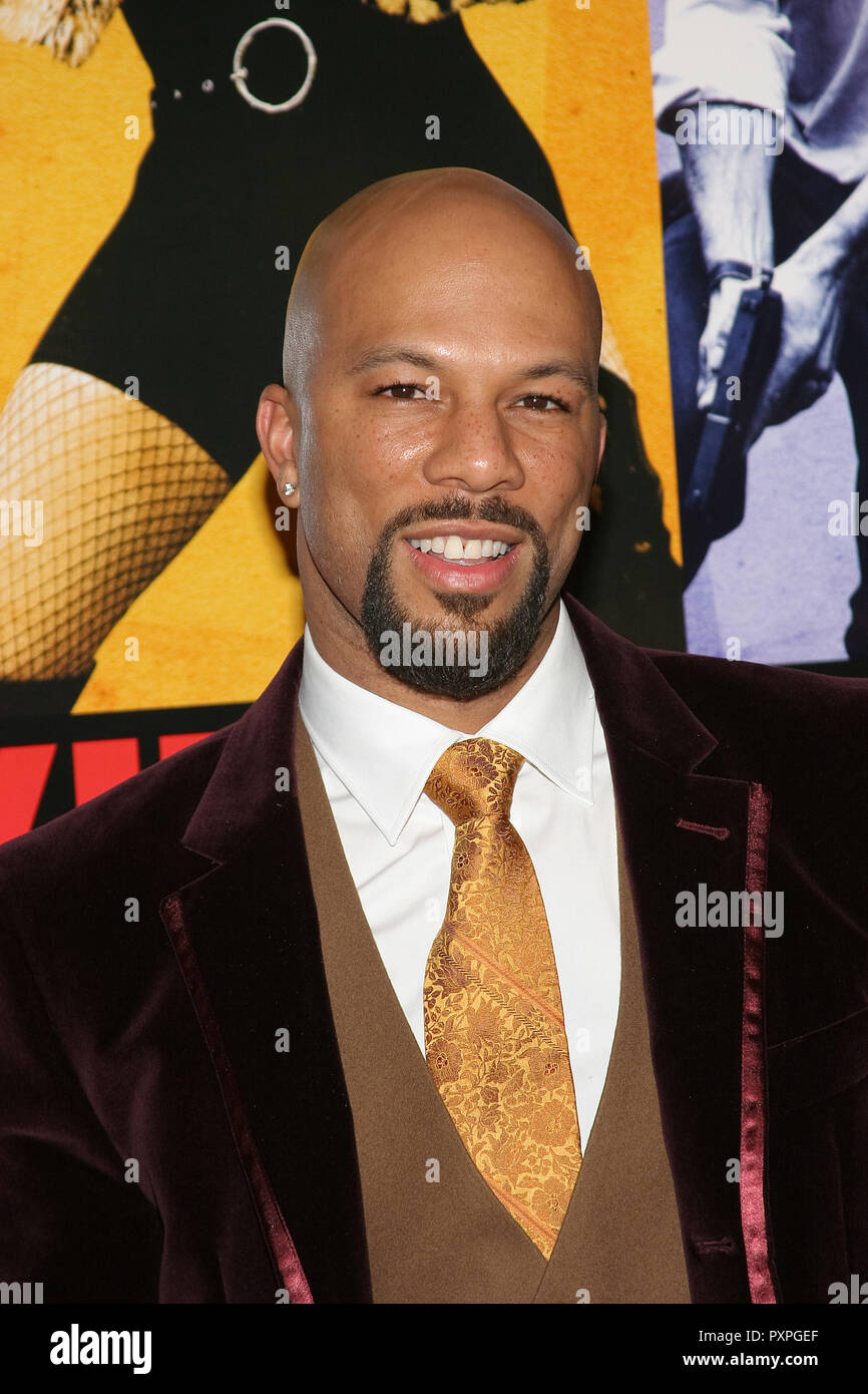 Common  01/18/07 SMOKIN' ACES  @  Grauman's Chinese Theatre, Hollywood  photo by Jun Matusda/HNW / PictureLux (January 18, 2007)   File Reference # 33687_182HNWPLX - Stock Image