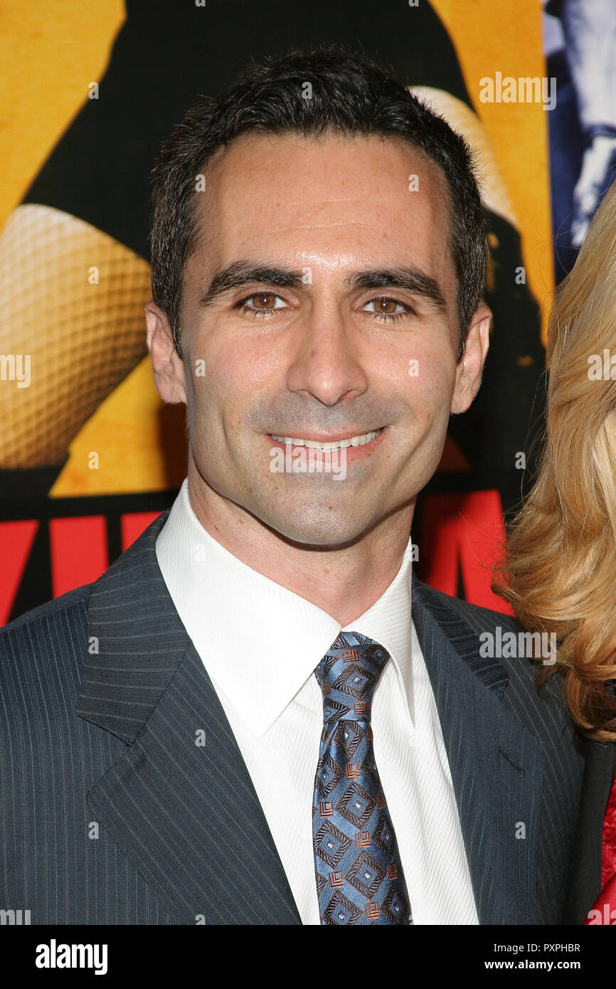 Nestor Carbonell  01/18/07 SMOKIN' ACES  @  Grauman's Chinese Theatre, Hollywood  photo by Jun Matusda/HNW / PictureLux (January 18, 2007)   File Reference # 33687_546HNWPLX - Stock Image