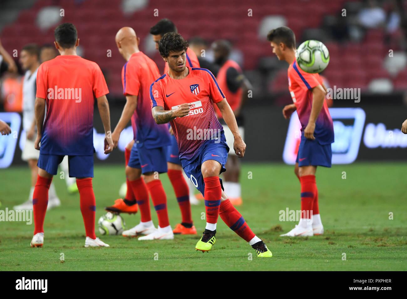 Kallang Singapore 30jul2018 Roberto Olabe 30 Player Of Atletico