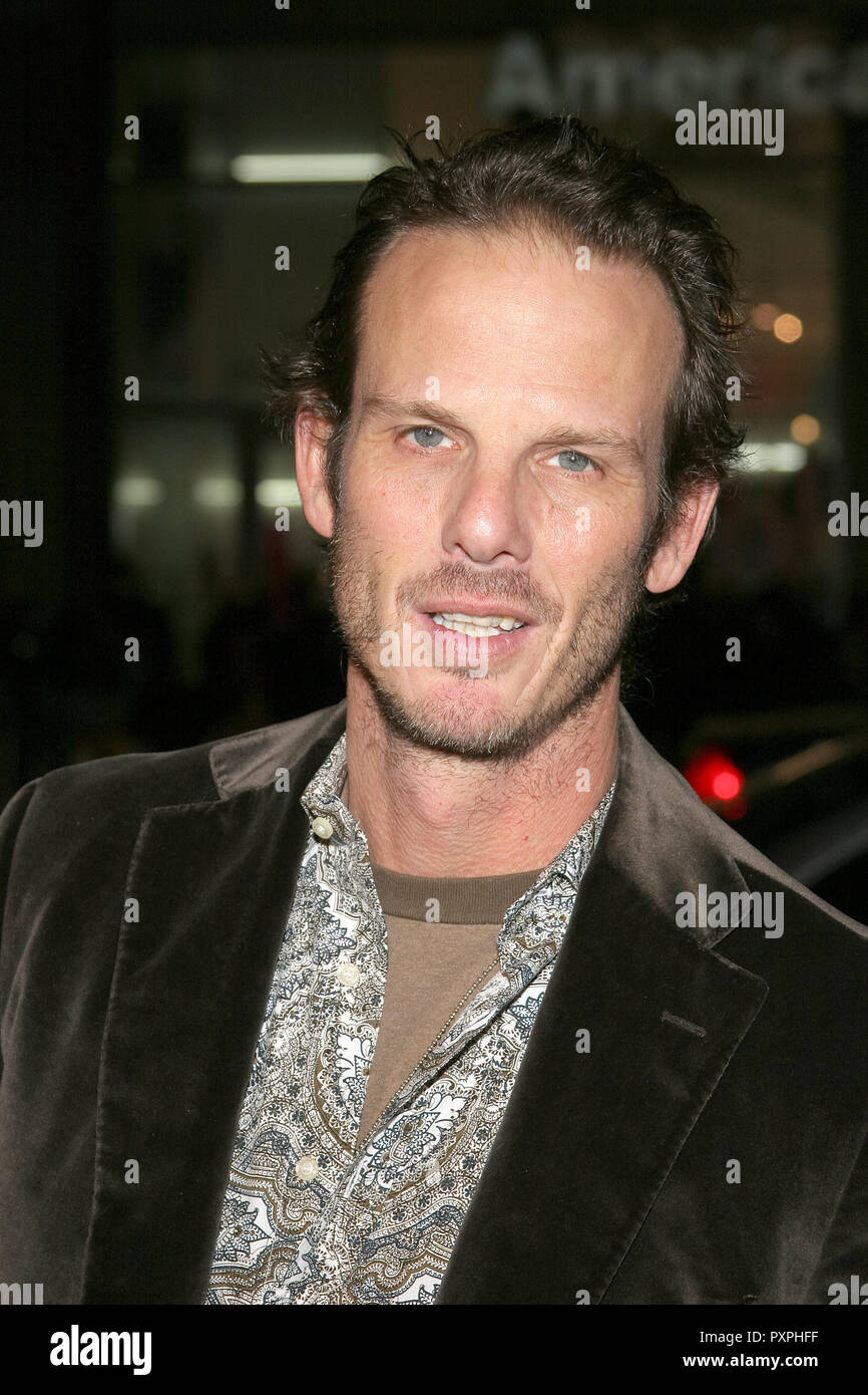 Peter Berg  01/18/07 SMOKIN' ACES  @  Grauman's Chinese Theatre, Hollywood  photo by Jun Matusda/HNW / PictureLux (January 18, 2007)   File Reference # 33687_585HNWPLX - Stock Image