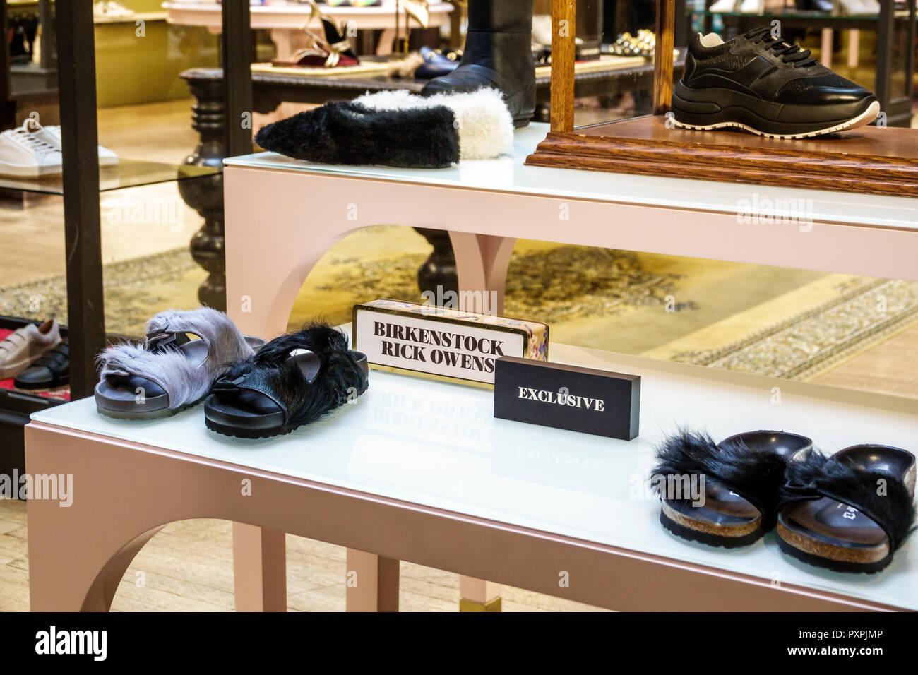 fa0f3c5733c London England United Kingdom Great Britain Soho Liberty Department Store  shopping luxury brands upmarket women s shoes designer Birkenstock Rick Owen