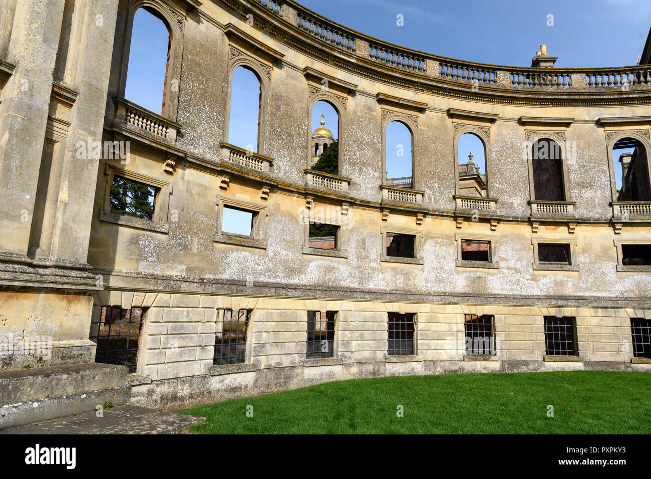 Witley Court mansion - Stock Image