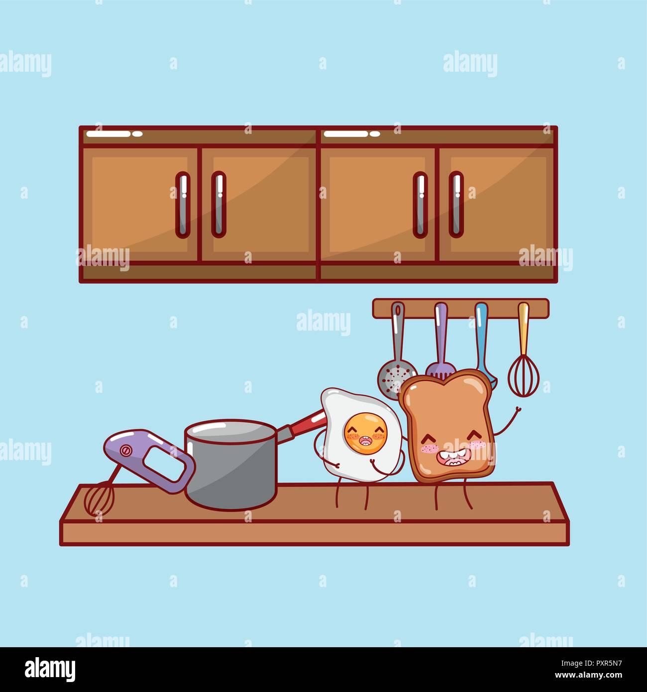 Kitchen Cabinet Cartoon High Resolution Stock Photography ...