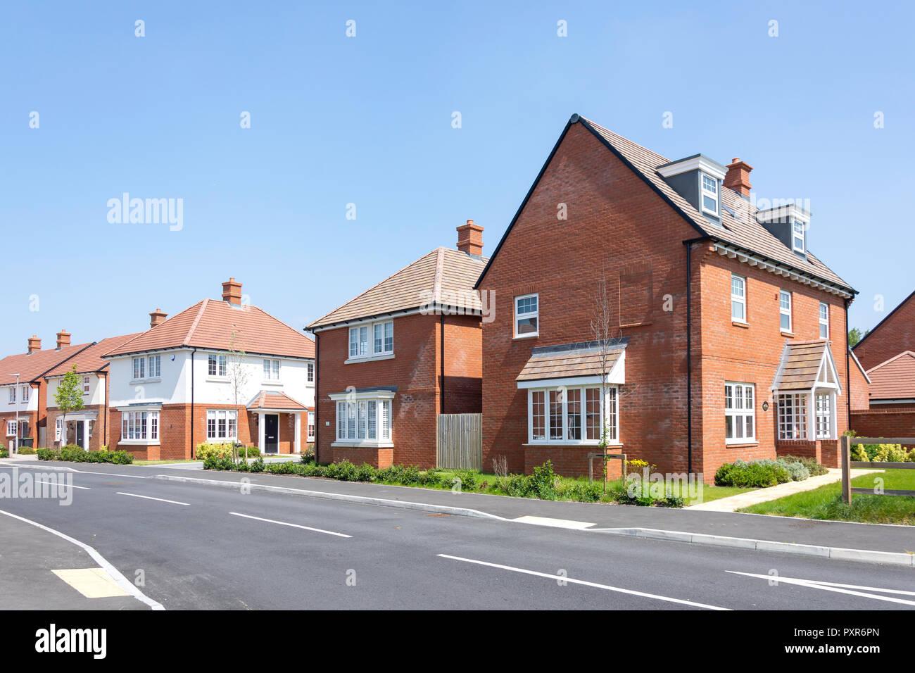 Westgate housing development, Baggs Lane, Wareham, Dorset, England, United Kingdom - Stock Image