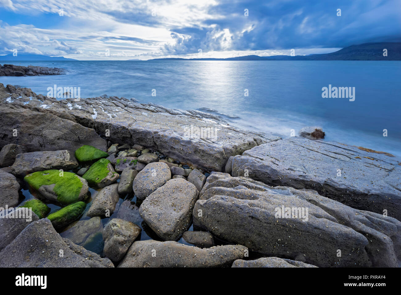 UK, Scotland, Inner Hebrides, Isle of Skye, beach near Elgol - Stock Image