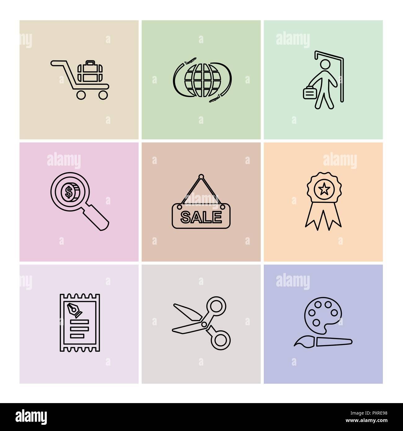 Design Bank Sale.Shopping Money Bank Dollar Invoice Idea Bulb Time