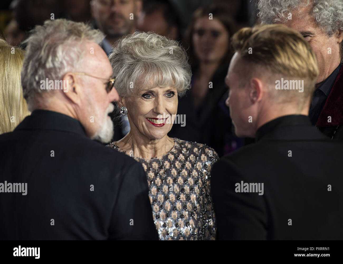 London, UK. 23rd Oct, 2018. Anita Dobson attends the World Premiere of 'Bohemian Rhapsody' at SSE Arena Wembley. Credit: Gary Mitchell/SOPA Images/ZUMA Wire/Alamy Live News Stock Photo