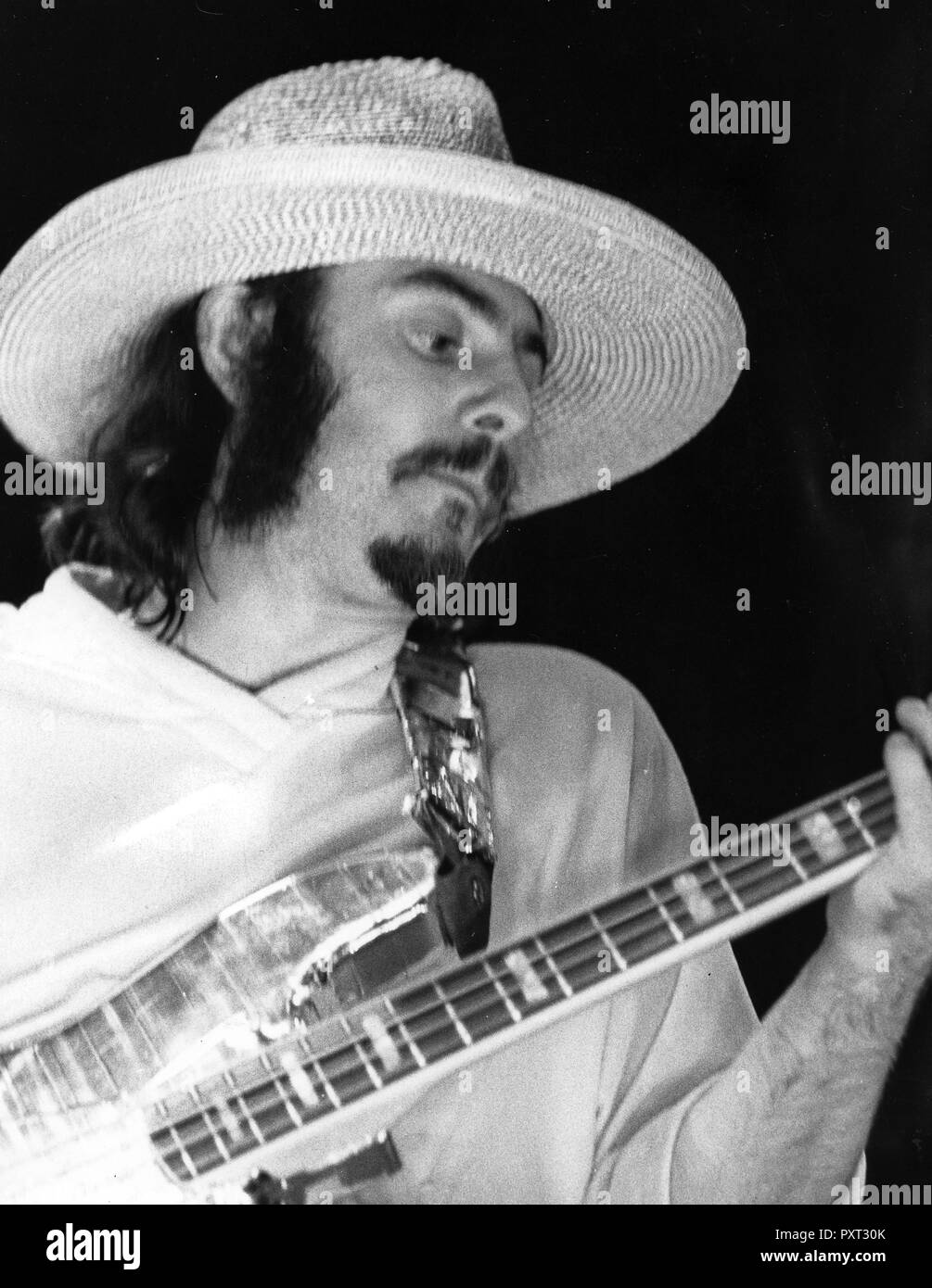 jeffrey hammond, jethro tull, 70s - Stock Image