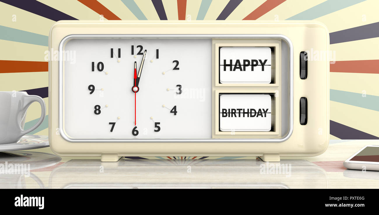 happy birthday alarm