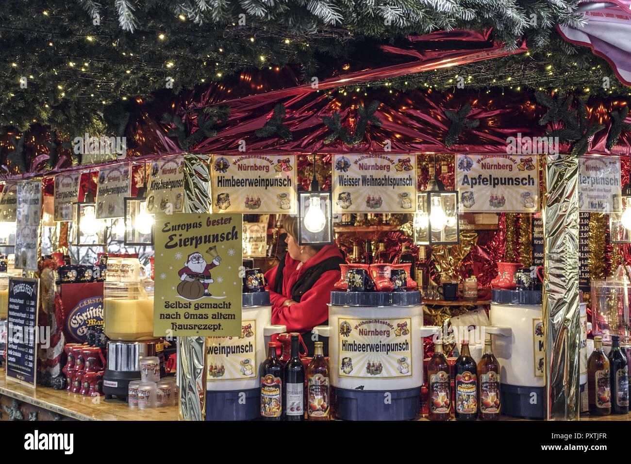 Bester Weihnachtsmarkt Deutschland.Weihnachtsmarkt Christkindlesmarkt In Nürnberg Hauptmarkt