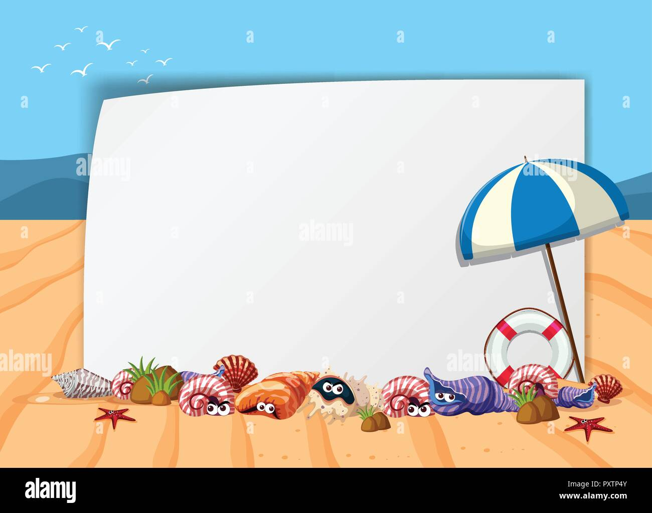 Beach Sand Writing Stock Vector Images - Alamy