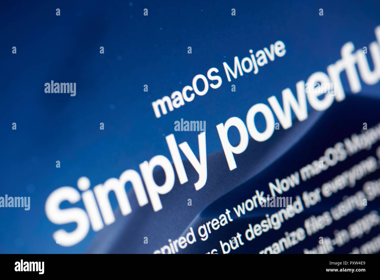 Macos Stock Photos & Macos Stock Images - Alamy